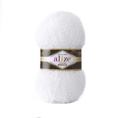 Alize Boucle 55 Белый