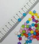Акриловые бусины Звезда 9 x 9 мм
