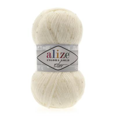 Alize Angora gold Star 01 Cream (крем)