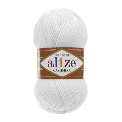 Alize Cashmira 55 White (белый)