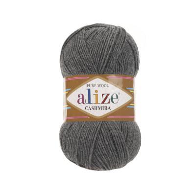 Alize Cashmira 182 Medium Grey Melange (серый меланж)