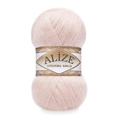 Alize Angora gold 271 Pink Pearl (жемчужно-розовый)