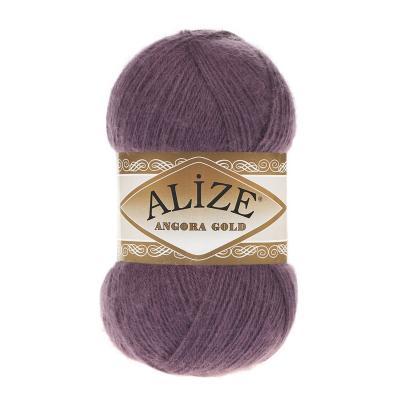 Alize Angora gold 226 Violet (пыльная вишня)