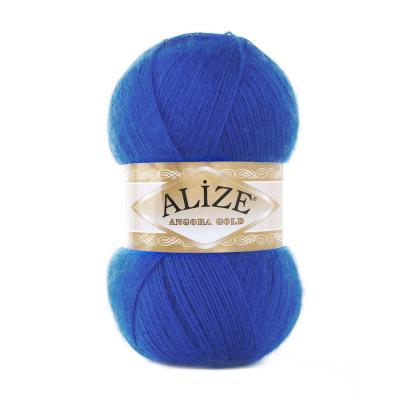 Alize Angora gold 141 Royal Blue (василек)
