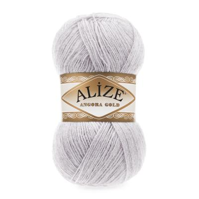 Alize Angora gold 71 Light Grey (светло-серый)