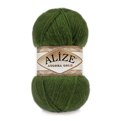 Alize Angora gold 118 Green (трава)