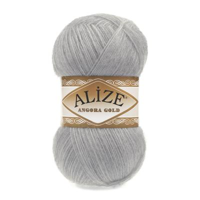 Alize Angora gold 21 Grey (серый)