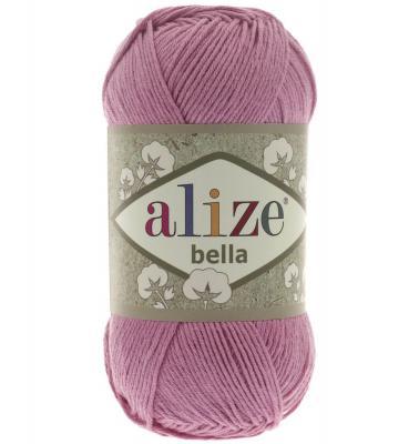 Alize Bella 198 ярко-розовый
