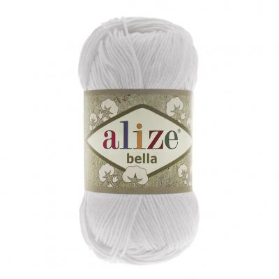 Alize Bella 55 белый 100 гр