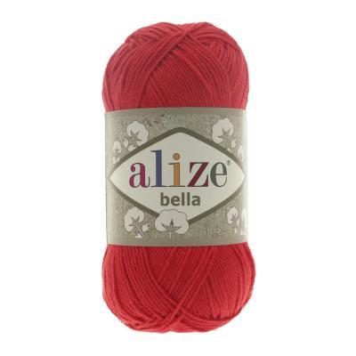 Alize Bella 56 красный