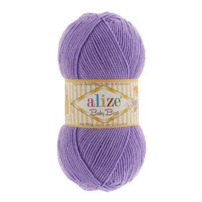 Alize Baby best 349 лиловый