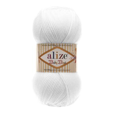 Alize Baby best 55 белый