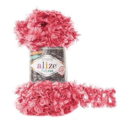 Alize Puffy fur 6115 роза