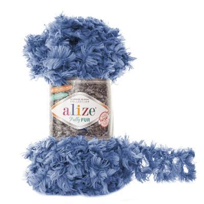 Alize Puffy fur 6116 св.джинс