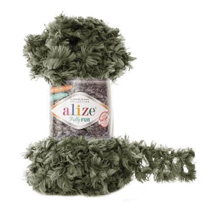 Alize Puffy fur 6117 олива