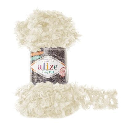 Alize Puffy fur 6113 крем