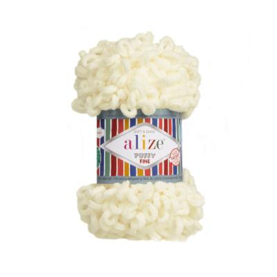 Alize Puffy fine 62 light cream (крем)