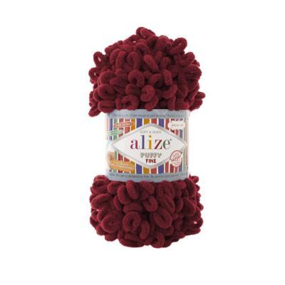 Alize Puffy fine 107 Cherry (вишня)
