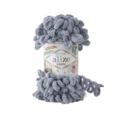 Alize Puffy 428 Medium Grey (средне-серый)