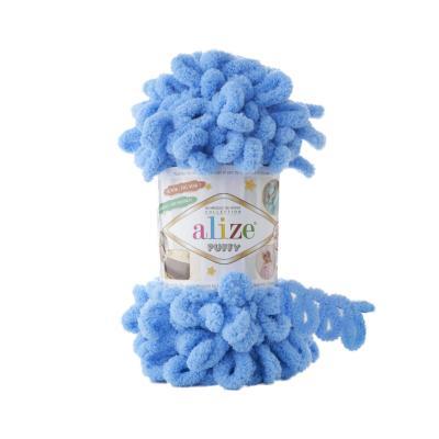 Alize Puffy 289 Blue (ярко-голубой)