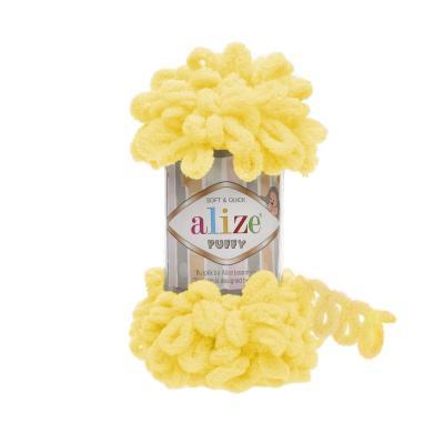 Alize Puffy 216 yellow (желтый)