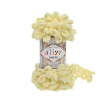Alize Puffy 13 light Yellow (лимончик)