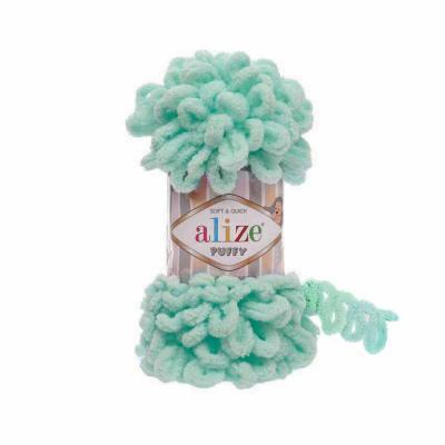 Alize Puffy 19 Light Turquoise (мята)