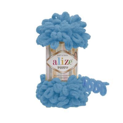 Alize Puffy 16 Sochi Blue (бирюза)