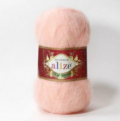 Alize Mohair Kid Royal 50 556 Peach (персик)