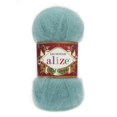 Alize Mohair Kid Royal 50 457 Petrol (лазурь)