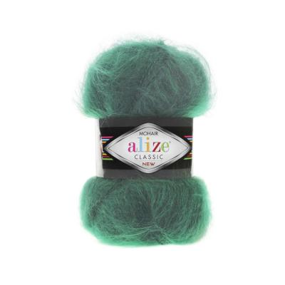 Alize Mohair classic 30 Duck Green (зеленая утка)