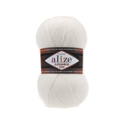 Alize Lanagold fine 450 жемчужный