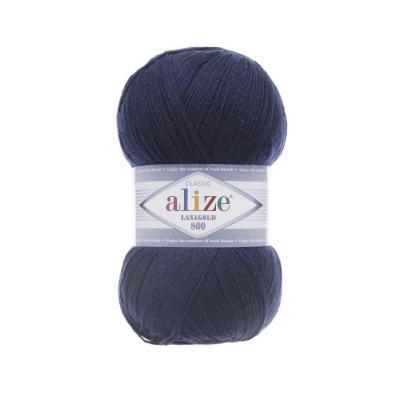 Alize Lanagold 800 58 темно-синий