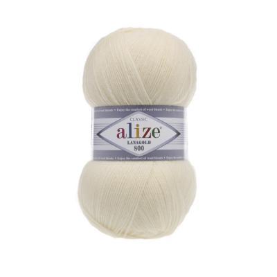 Alize Lanagold 800 01 крем