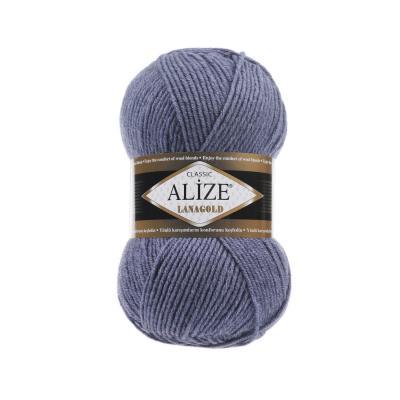 Alize Lanagold 203 Denim Melange (джинс меланж)