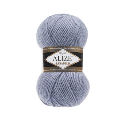 Alize Lanagold 221 Light Denim Melange (Легкий джинсовый меланж)