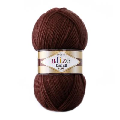 Alize Angora Real 40 plus 57 Bordeaux (бардо)