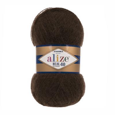 Alize Angora Real 40 201 шоколад
