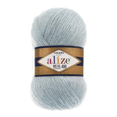 Alize Angora Real 40 114 Light Aqua (мята)