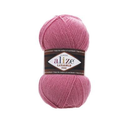 Alize Lanagold fine 359 темная роза