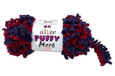 Alize Puffy More 6268 вишня/синий