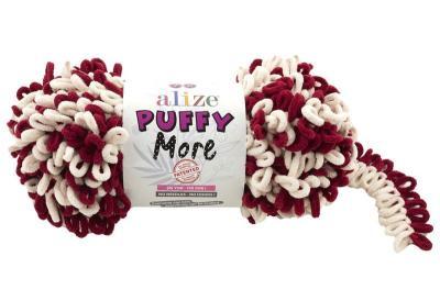 Alize Puffy More 6271 крем/вишня