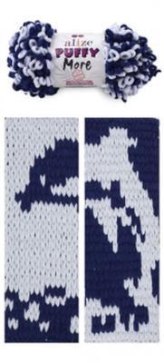 Alize Puffy More 6279 серо-голубой/синий