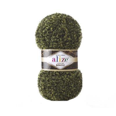 Alize Boucle 6044 зеленый
