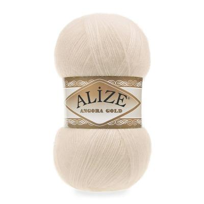 Alize Angora gold 67 молочно-бежевый