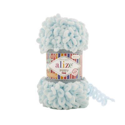 Alize Puffy fine 522 талая вода