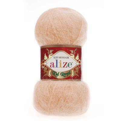 Alize Mohair Kid Royal 50 491 абрикосовый