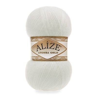 Alize Angora gold 62 молочный