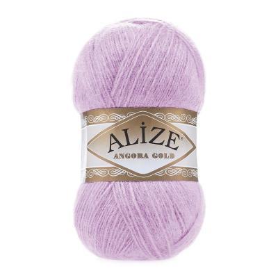Alize Angora gold 27 лиловый