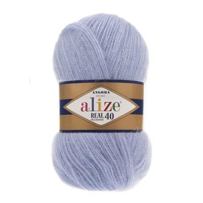 Alize Angora Real 40 40 голубой